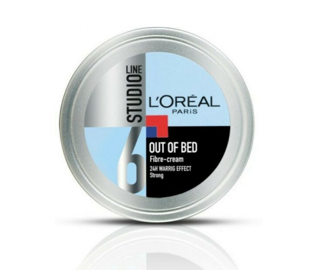 Loreal 150ml Studio Line 6 Out Of Bed Strong Fiber