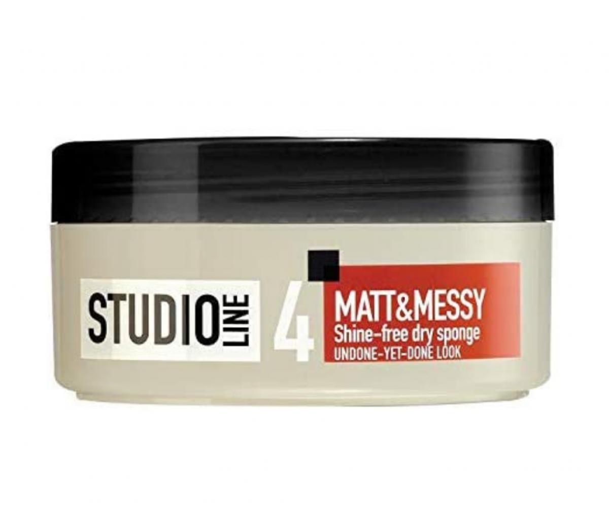 Loreal 150ml studio matt & messy normal hold hair cr