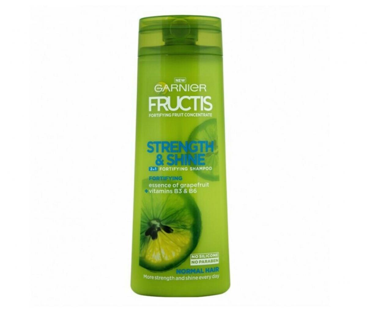 Garnier 400ml Fructis Strength & Shine 2in1 Shampoo
