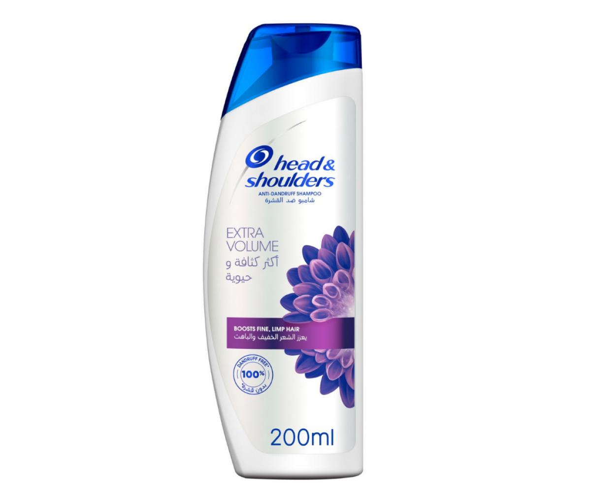 Head&Shoulder 400ml Extra Volume Shampoo