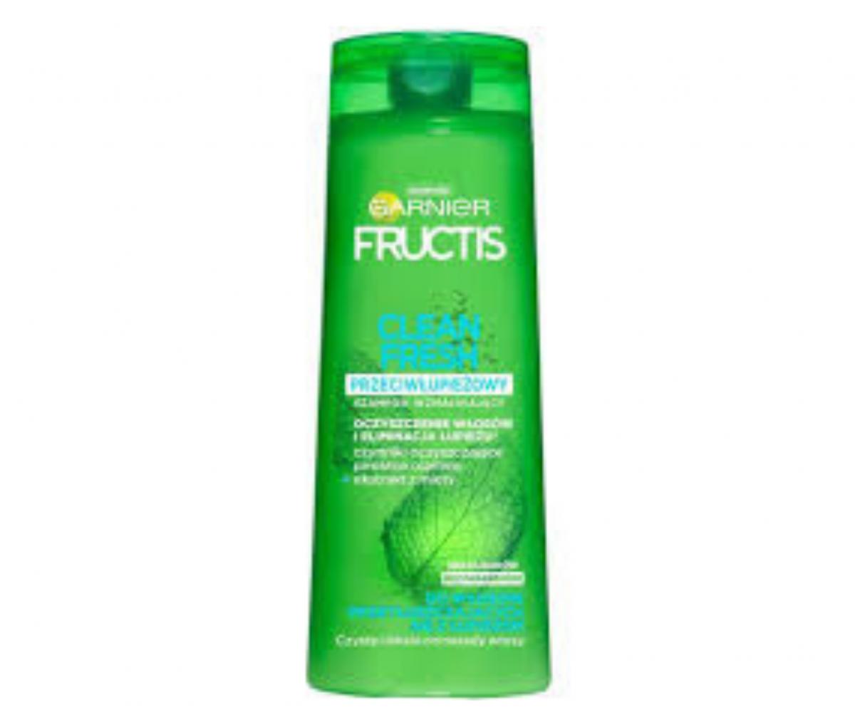 Garnier 400ml Fructis Clean Fresh Shampoo