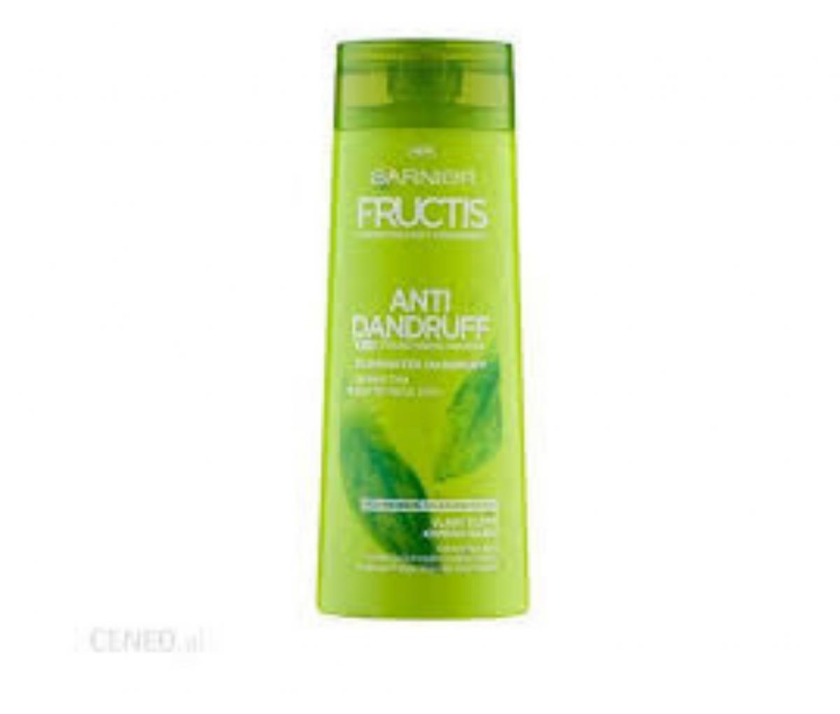 Garnier 400ml fructis shampoo Przeciw & Lupiezowy