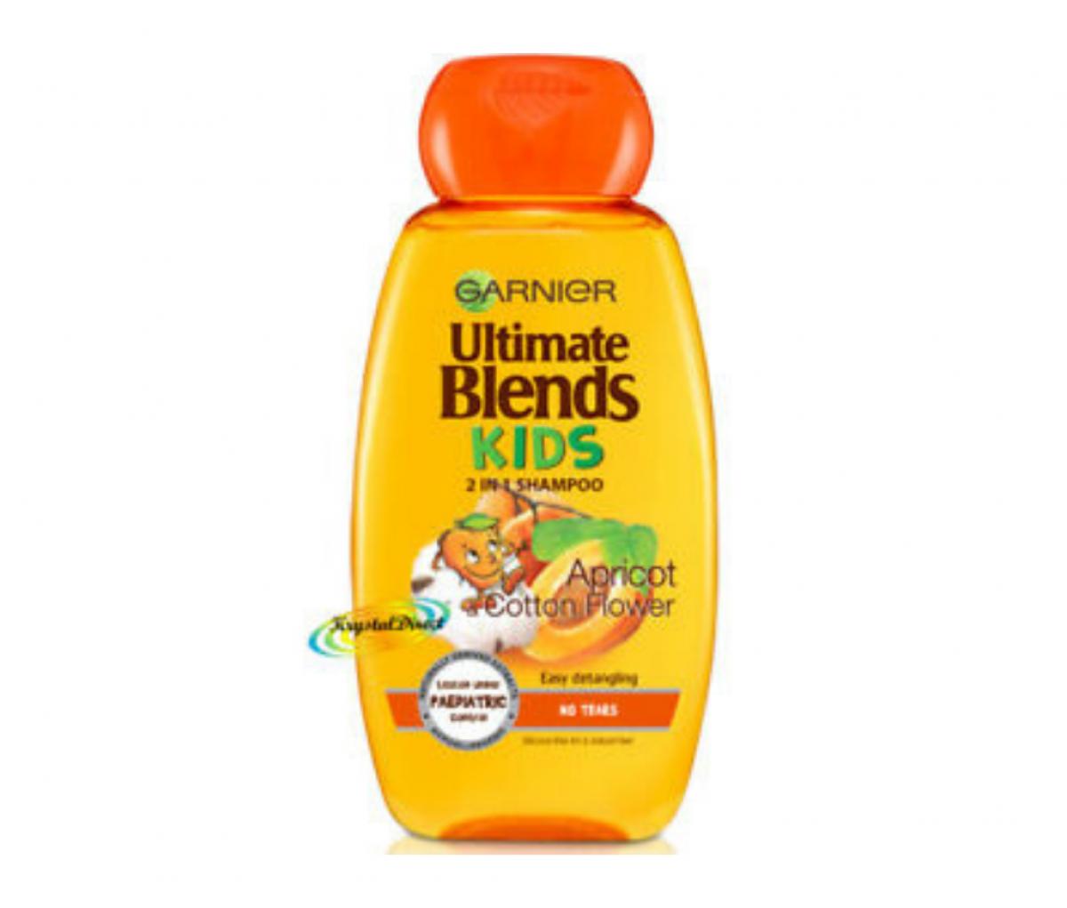Garnier 250ml Blends Kids Apricot & Cotton Flower Shampoo