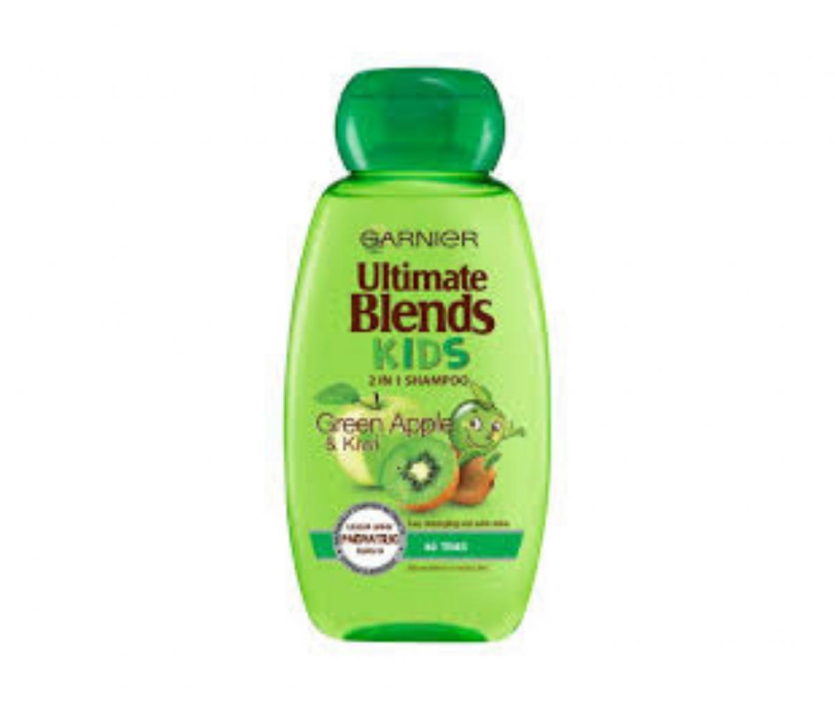 Garnier 250ml Blends Kids Green Apple & Kiwi Shampoo