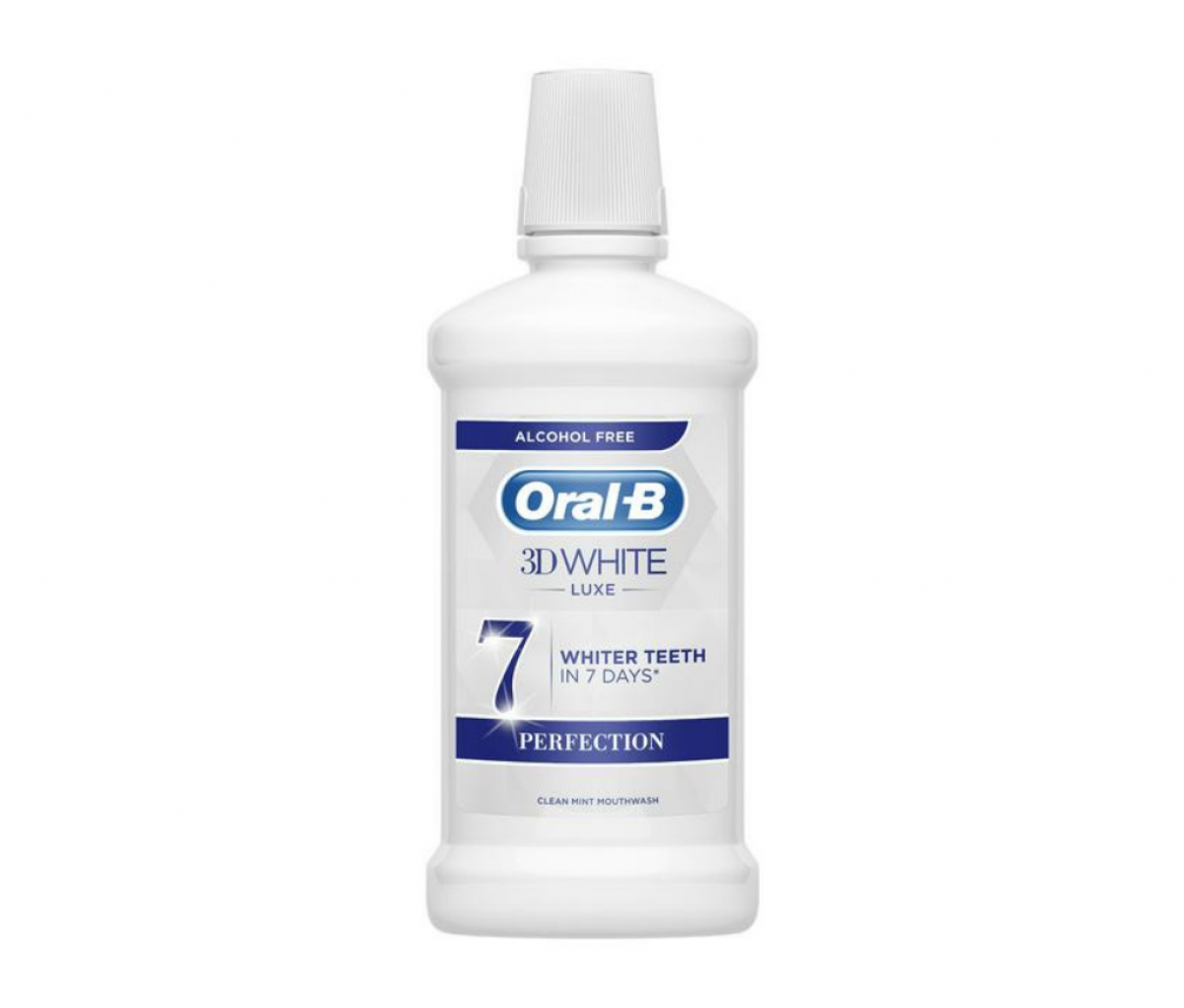 Oral B 500ml 3D White Luxe Perfection Shine Clean
