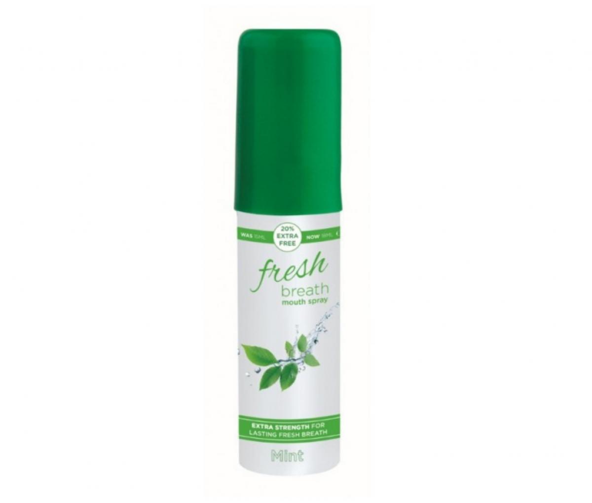 Fresh Breath Mouth Spray 18ml Pepper Mint