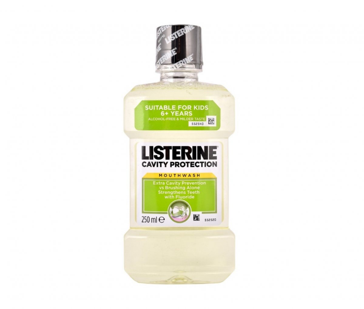 Listerine 250ml Cavity Protection Mouth Wash