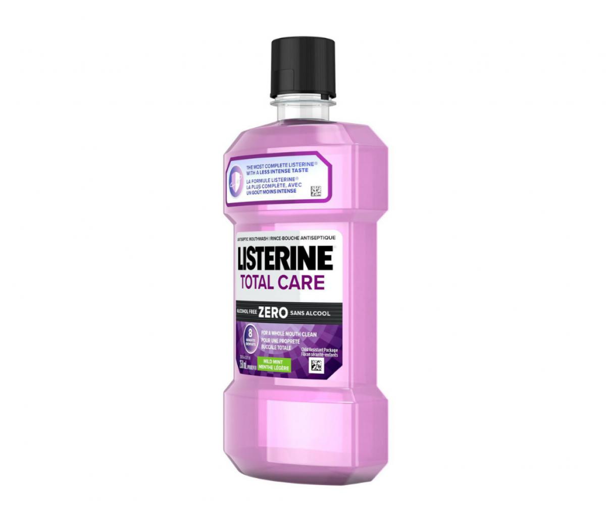 Listerine 250ml Zero & Mild Taste Mouthwash
