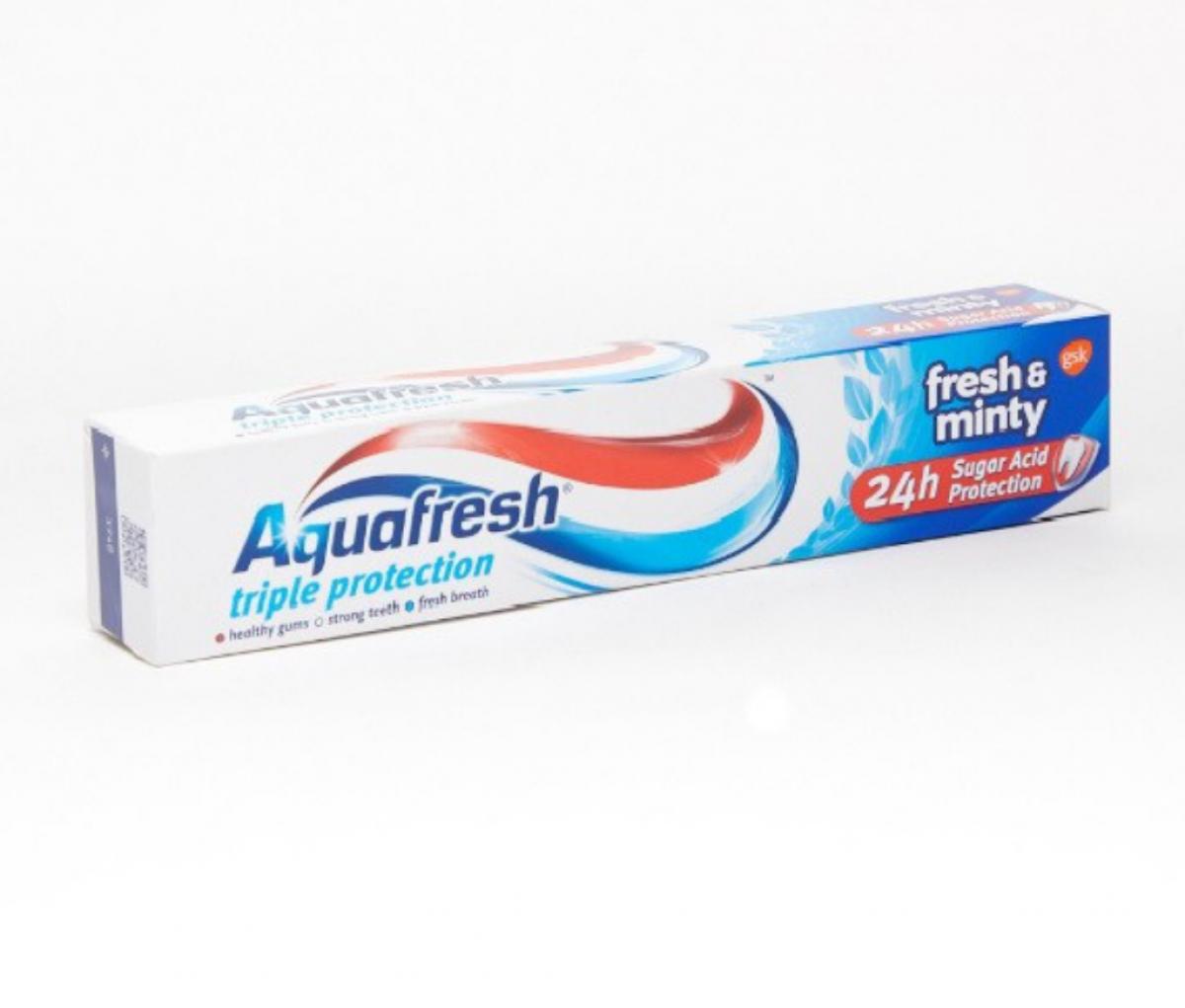 Aquafresh 75ml Menthol