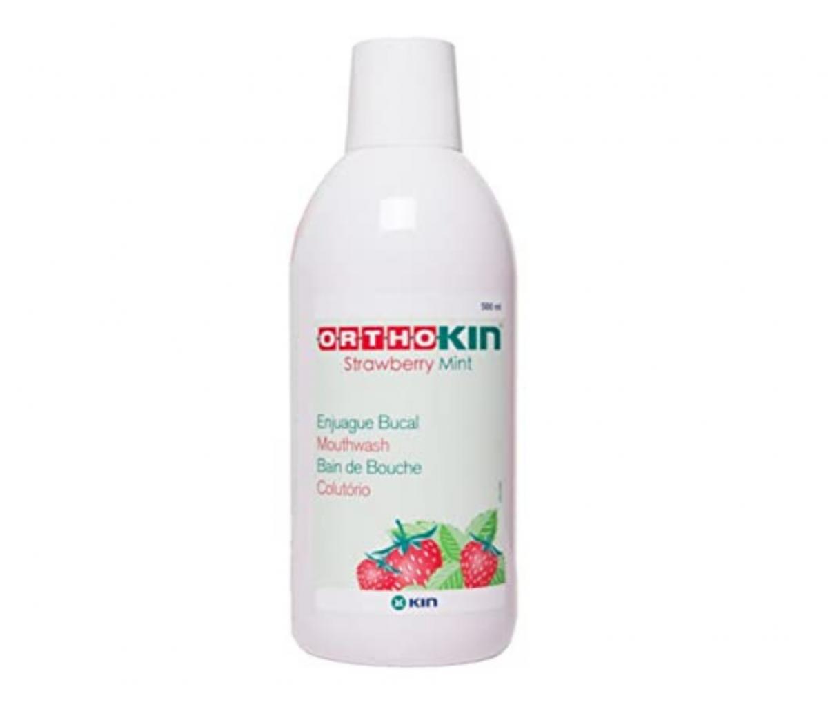 KIN Orthokin Strawberry Mouthwash