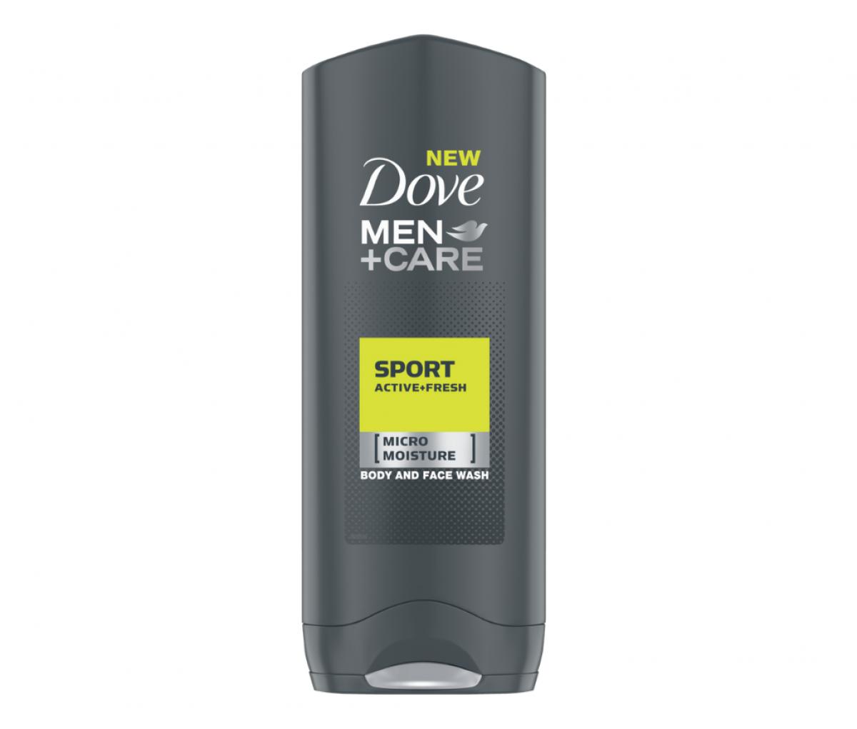 Dove 400ml 2in1 Sport Active+Fresh Body & Face Wash