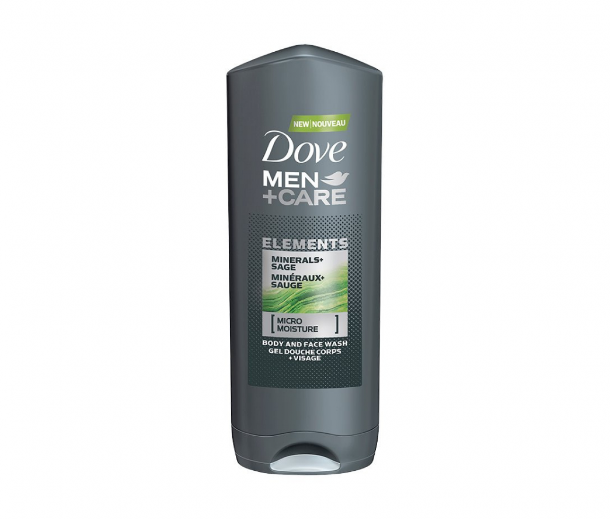 Dove 400ml Minerals+Sage Body & Face Wash