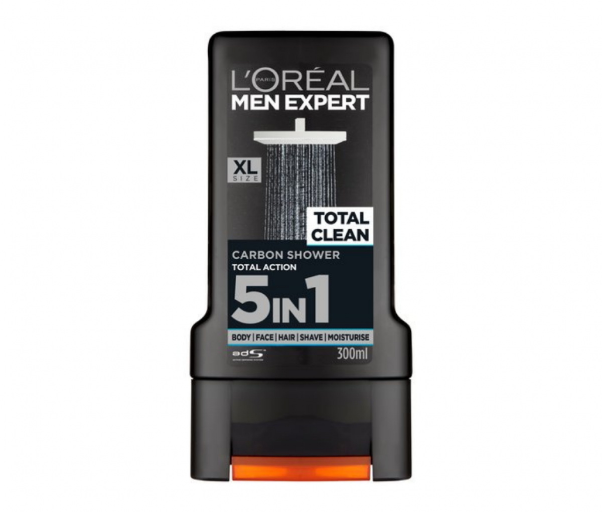 Loreal 300ml Men Expert Total Clean Shower Gel