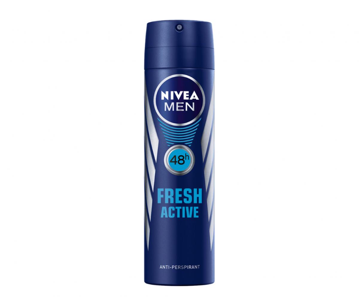 Nivea Deo Men 150ml Fresh Active Quick Dry