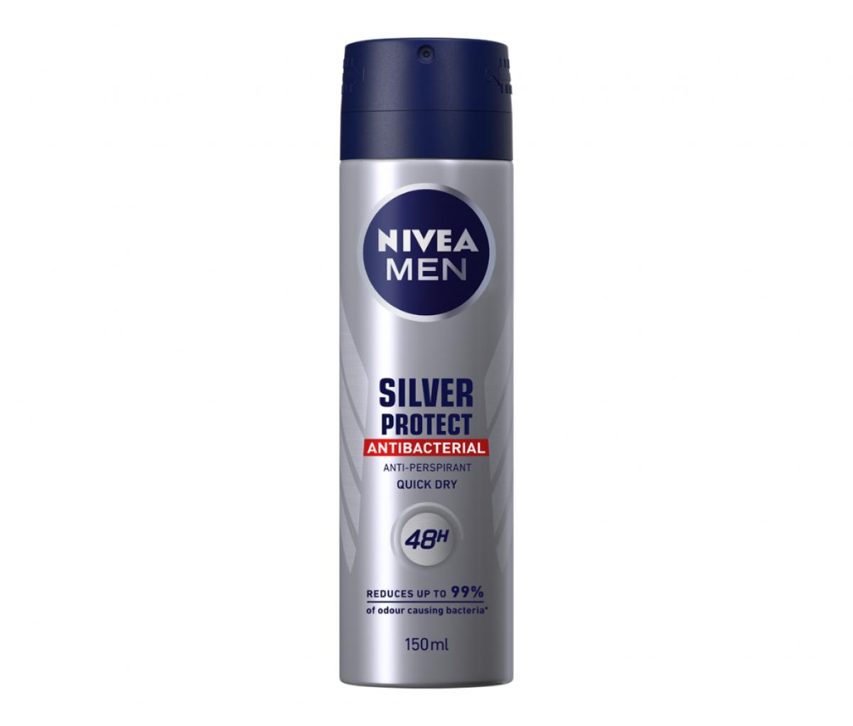 Nivea Deo Men 150ml Silver Protect