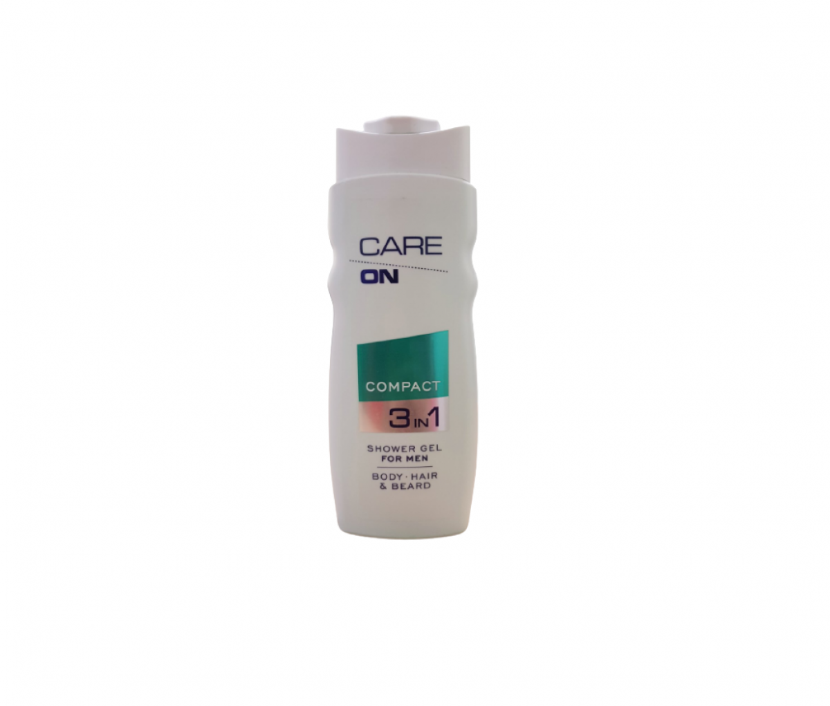 TZMO CARE ON Shower Gel 2 in 1 Compact 500ml