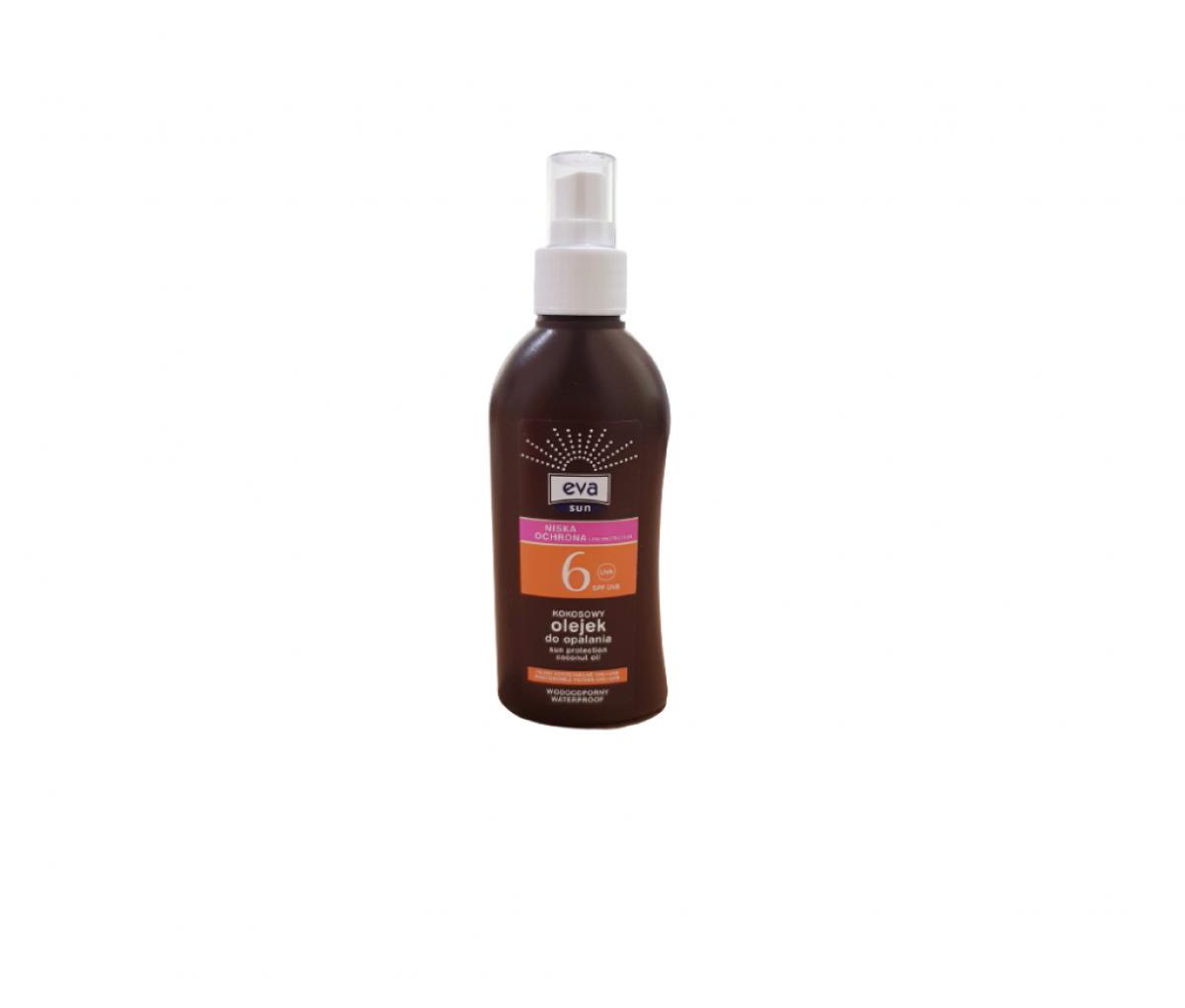 TZMO-EVA Sun SPF 6 Sun Protection Coconut Oil 150ml