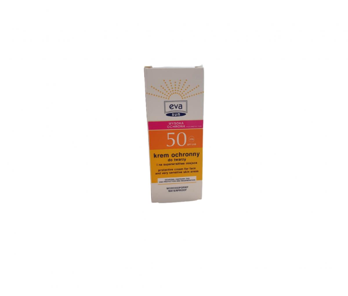 TZMO EVA Sun SPF50 Sun Protection Cream for Sensitive Areas 25ml