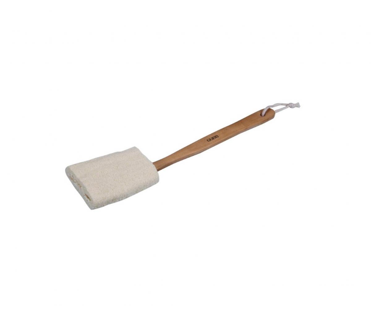 GUBB Natural Loofah Brush (With Detachable Handle)