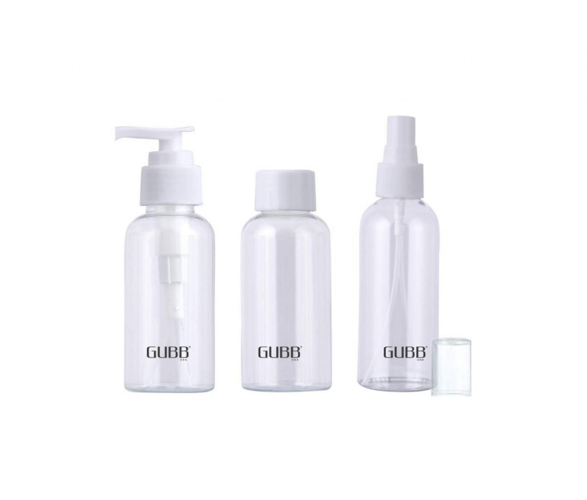 GUBB Travel Bottles Set