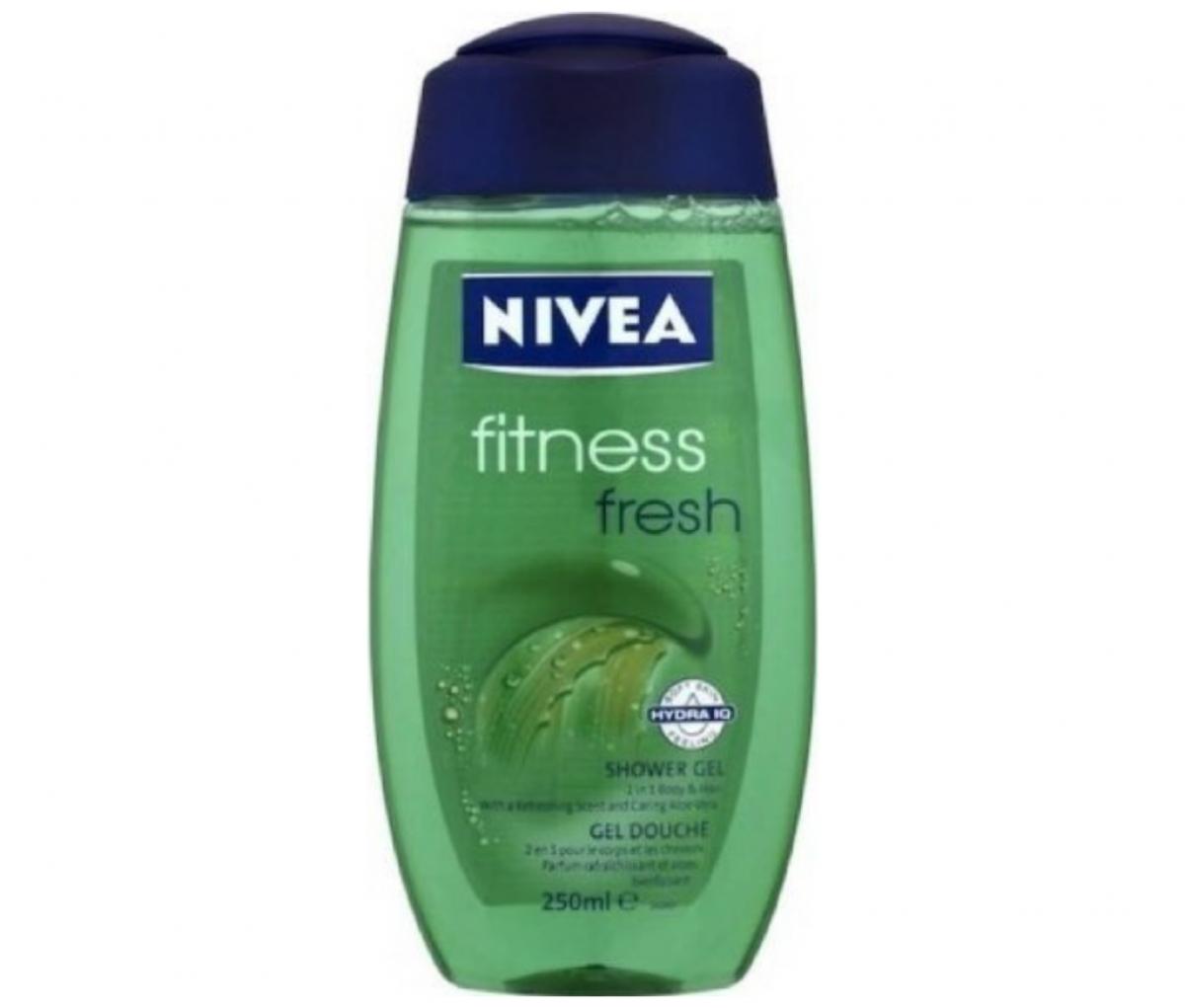 Nivea 250ml Fitness Fresh Shower Gel