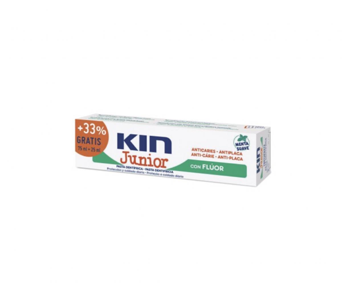 Kin Junior Mild Mint Toothpaste 75+25ml