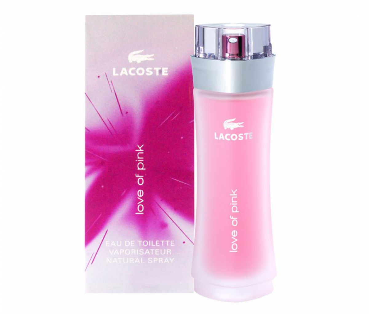 Lacoste Love Of Pink (W) Edt 90ml